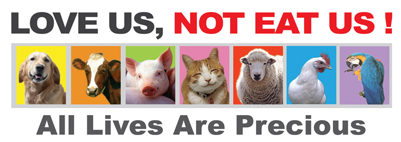 love us not eat us
