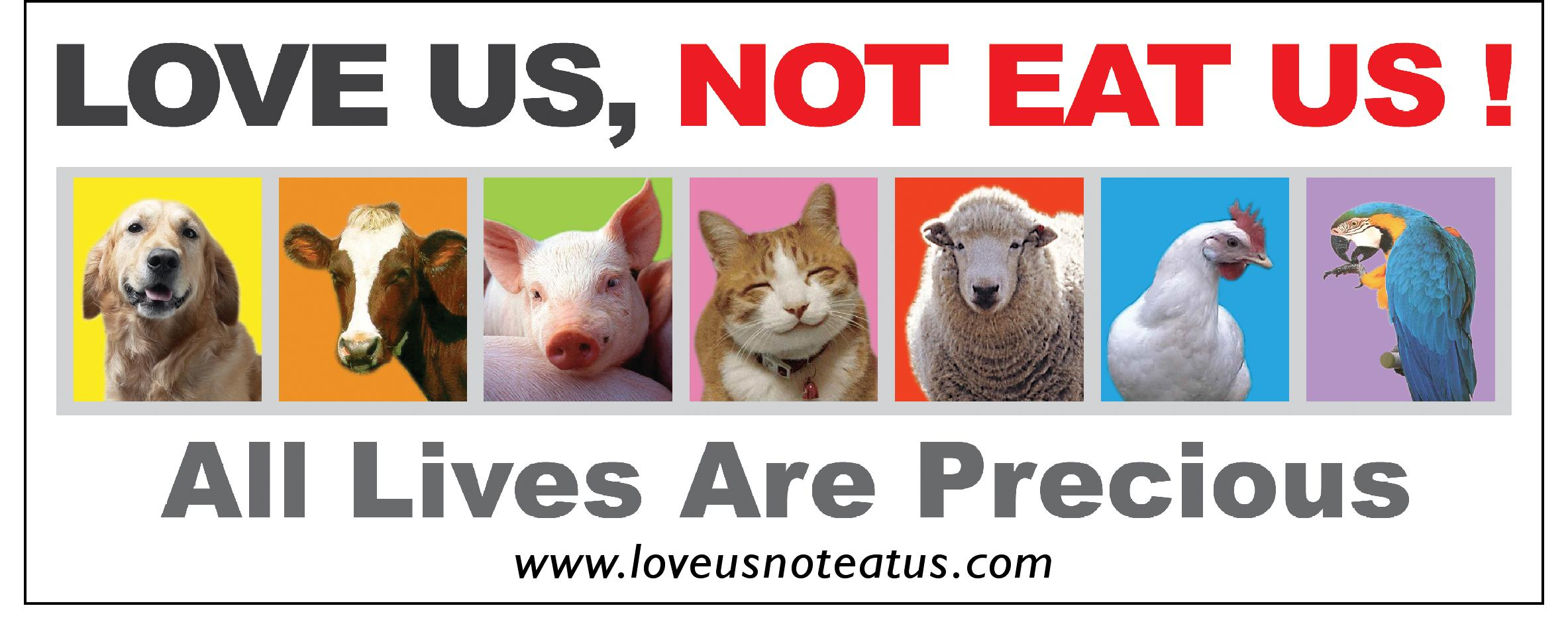 loveeee animals ima vegetarian i love animals